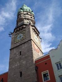 Tirol Tours Innsbrucker Stadtturm Besichtigung Innsbruck Altstadt